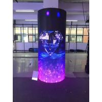 Best Good Flatness Flexible LED Display Screen , Hanging Soft LED Video Curtain wholesale