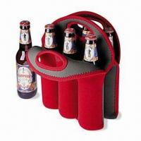 Best Neoprene Can/Beer Bottle Cooler with Logo Printings, Measures 32 x 38 x 0.3cm wholesale