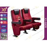 Best Rocker Back luxury Movie Theatre Auditorium Chair With Tablet Arms wholesale