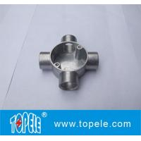 China TOPELE BS4568 / BS31    4 Way Terminal Electrical Aluminum Junction Box, Channel Inspection Tee Box on sale