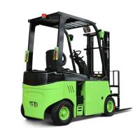 Best Narrow Aisle Lithium Battery Forklift Truck , 1.5 / 3.5 Ton Four Wheel Electric Forklift wholesale