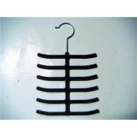 China Flocked tie hanger on sale