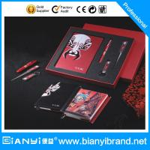 Best Loose leaf notebook  gift set for promotional wholesale