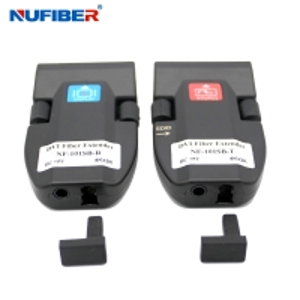 Best 1core LC 2km Dvi Fiber Extender , Mini Dvi Fiber Optical Transceiver wholesale