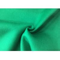 Best Pure Green Double Layer Fabric , Wool Felt Fabric Various Design Comforcable wholesale