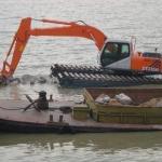 Best Amphibious Excavator with 0.8cbm Bucket Isuzu Engine and Japanese Hydraulic Systems wholesale