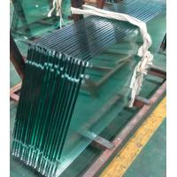 China Custom Made Tempered Glass Panels High Security 3300X9000mm 3mm-19mm on sale