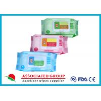 Best Various Packages Baby Wet Wipes Plain Spunlace Nonwoven 45GSM Fragrance Free wholesale