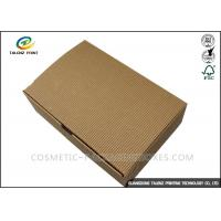 Best Folding Shoes Custom Corrugated Boxes 1mm 1.5mm Rigid Cardboard Thickness wholesale