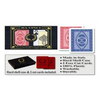 100% Plastic Da Vinci Route Marked Playing Cards For Poker Cheat Bridge Size