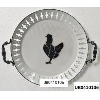 Best Pablo Picasso Abstract Chick Decorative Plates Wall Hanging Round Dish Artistic Ceramic Craft Decor Simple Line Painting wholesale