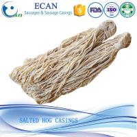China Fresh Salted Natural Hog Casing for Sausage on sale
