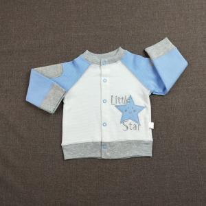 Best 4 Pcs Baby Boy Clothing Sets Breathable, 0 - 9 Months Lake Blue Kids Clothing Set wholesale