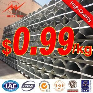 Best Distribution Steel Pole Electric Power Transmission wholesale