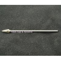 Best Long shank 3mm G shape Tungsten file/ carbide burrs wholesale