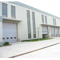 China Speed 1.0m/s Exterior Security Industrial Sectional Doors Rolling Back Model on sale