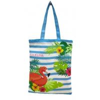 Best Cotton Tote Canvas Reusable Eco Bags Shopping Handle Large Recycled Beach Grocery Tote wholesale