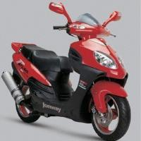 China Gasoline Motor Scooter with Maximum Speed of 90kph on sale