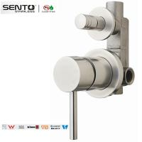 Best Perfect quality multifunctional steel body brushed finish shower mixer wholesale