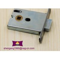 China Office Building Toilet Mortise Door Lock Italian / European Mortise Lock Body on sale