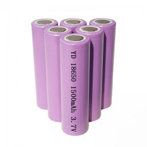 Best OEM ODM 5.55Wh 3.7V 1500mAh 18650 Li Ion Battery wholesale