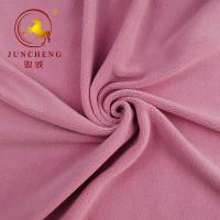 Best 2019 China factory new arrival anti pilling spandex velvet for garment wholesale