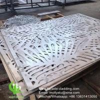 Best China Powder coated Metal aluminum laser cut panel cladding for facade exterior cladding wholesale