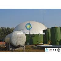 China Glass-Fused-To Steel GFS Tanks / Enamel Steel Tank In Water Treatment And Engineering Sewage on sale
