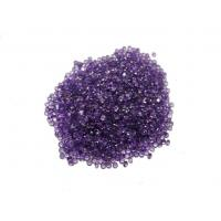 Best Normal Faceted Natural Amethyst Stones Purple 2mm 0.05 Carats wholesale