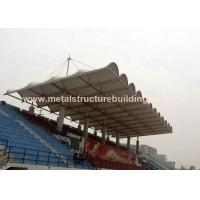 Best Aluminum Window Prefabricated Steel Structures Round Steel Brace For Stadium wholesale