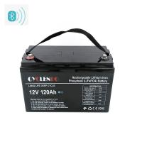 China Lifepo4 lithium ion battery 12v 120ah, Smart APP controlled battery on sale