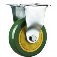 China Stainless Steel Green Blue Caster Wheels For Furniture Hollow Mounting on sale