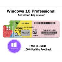 Best Original Windows 10 Pro Key Code Sticker With Scratch wholesale