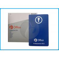 Buy cheap Office 2013 Home And Business Key Retail Oem Pack / Microsoft Office Standard 2013 from wholesalers