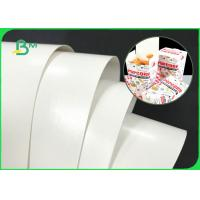 Best Double Sides White 300GSM 350GSM PE Coated Paper Board For Fast Food Boxes wholesale