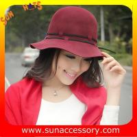 Best 6090434 Sun Accessory customized  winner  fashion  wool felt  clothe hats, women hats and caps wholesaling wholesale