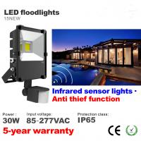 Best 30W PIR Infrared induction Motion sensor Outdoor LED Floodlight lighting Flood light wholesale