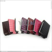 Best for iPhone 4 4s Flip Leather Cover Case with Crocodile Skin Pattern (P-iPHN4SCASE010) wholesale