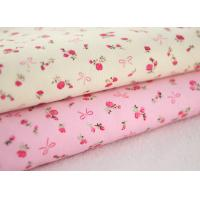 Best Soft Floral Stretch Corduroy Fabric Cloth For Baby Children wholesale