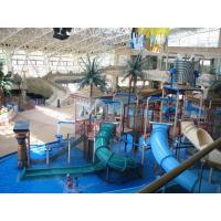 Best Adults Anti crack Amusement Park Water Slides Aquatic Play Structures Paradise for Resorts wholesale