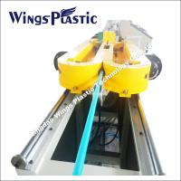 China PVC / PP / HDPE SWC or Single Wall Corrugated Pipe Extruder Machine on sale