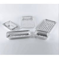 Best Barbecue use container fish roasting catering tray aluminium foil oval aluminum foil fish container wholesale