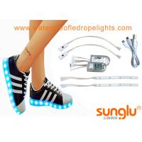 Best Different colors LED Shoe Light , Sole Footwear Decoration , LED Flashing Shoes wholesale