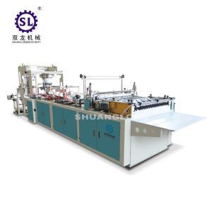 Best Slef-closing zipper bag making machine automatic polythene 12.8kw Power wholesale