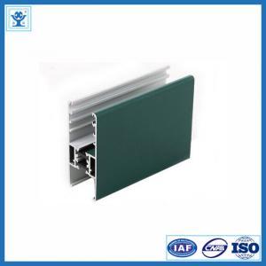 China Powder coated aluminum window profile on sale