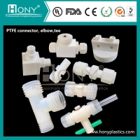 China PTFE Connector, PTFE Elbow,PTFE Tee on sale