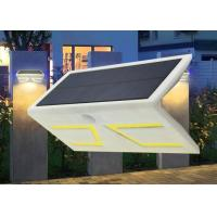 Best High Lumen Integrated Outdoor Solar Motion Detector Lights 21*11.6*8cm wholesale