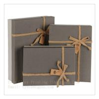 Best Factory fineness gift box jewelry box customize design gift box with ribbon wholesale