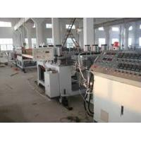 Best High Output Twin Screw Extruder with 1220 * 2440 Dimension, WPC Foam Board Machine wholesale