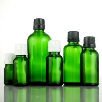 Best Green dropper, essential oil bottle, cosmetic packing, empty bottle essential oil, frosted bottle wholesale